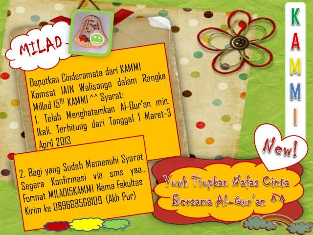 Milad 15Th KAMMI